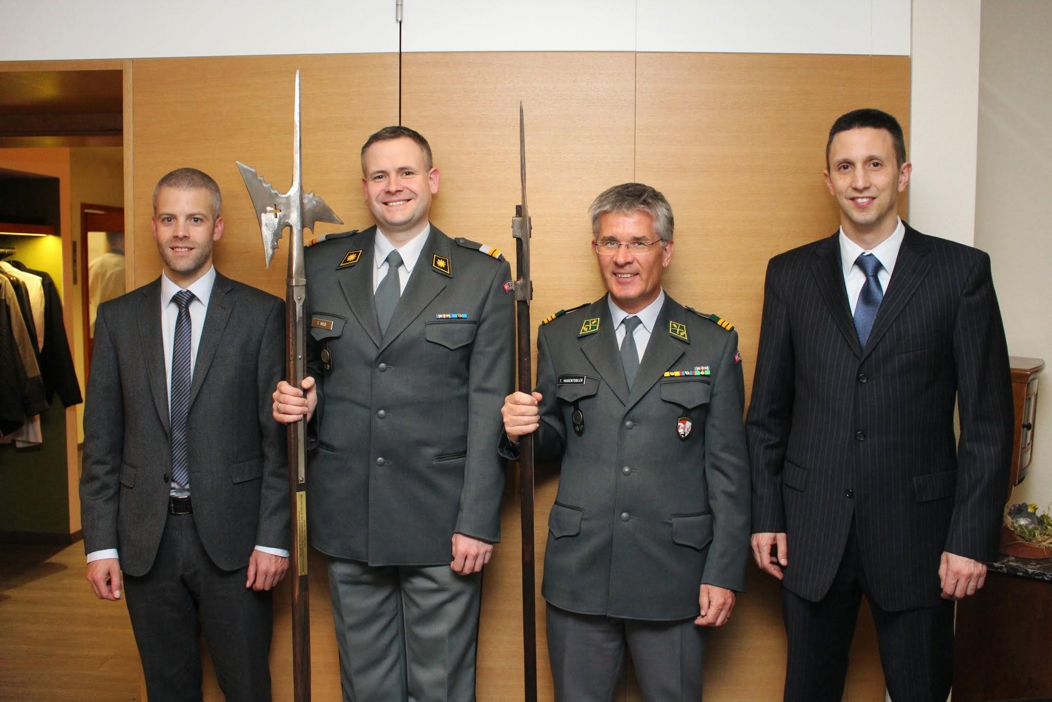 Von Hugentobler zu Richard – Generalversammlung Offiziersgesellschaft Bodensee